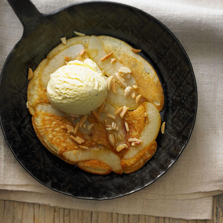 Birnen-Schaumpfannkuchen