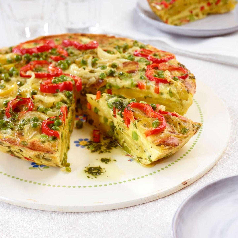 Rezepte: Pikante Kuchen mit Gemüse
