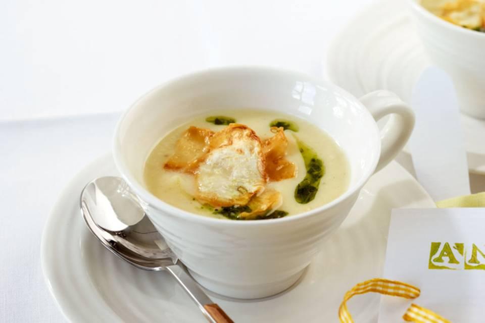 Sellerie-Cremesuppe Rezept