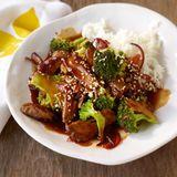 Teriyaki-Rind mit Broccoli