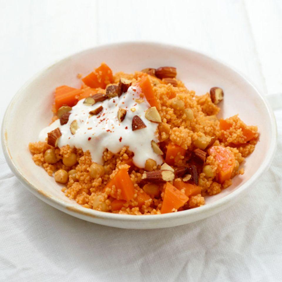 Kichererbsen-Couscous