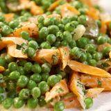 Möhren-Erbsen-Gemüse