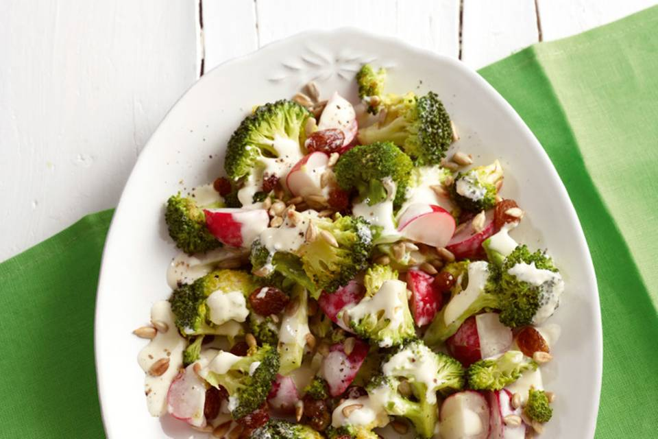 Broccoli-Radieschen-Salat Rezept