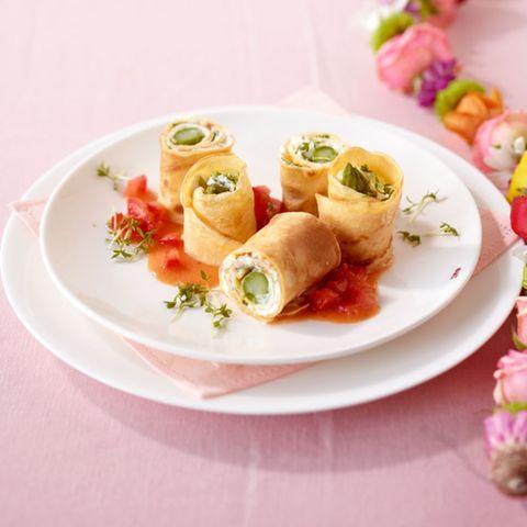 Pfannkuchen-Sushi