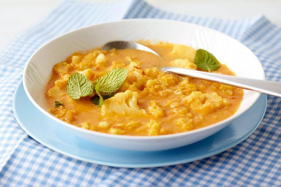 Linsen-Blumenkohl-Suppe Rezept