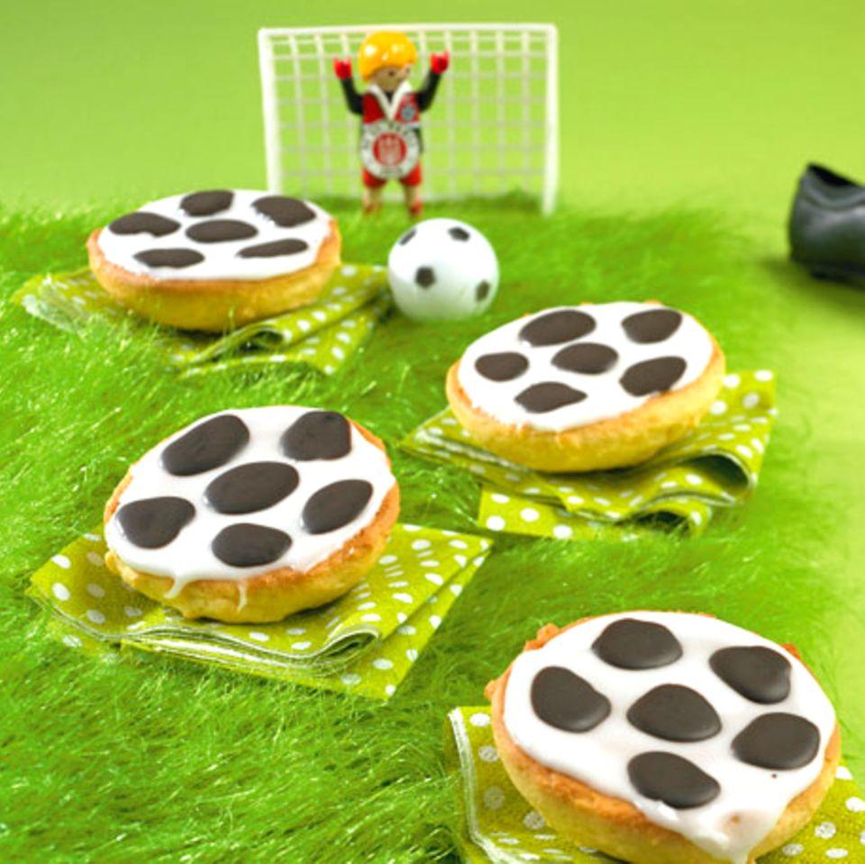 Snacks für die Fußballparty