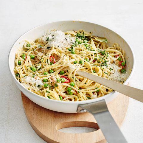 Rezepte: Erbsen in Pasta