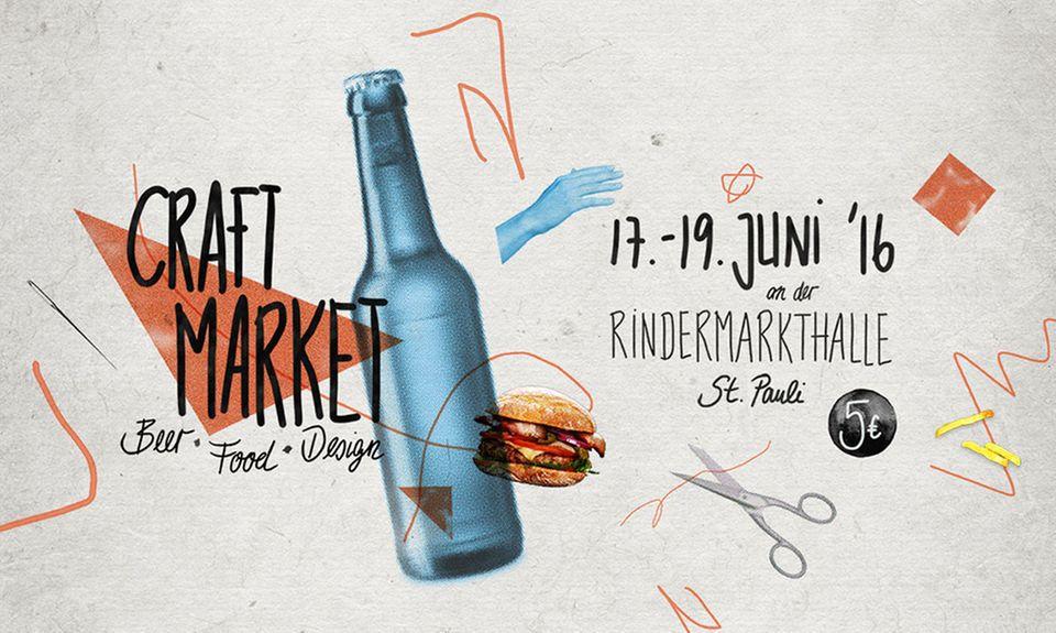 Der 1. Hamburger Craft Market: eine tolle Mischung aus erstklassigem Bier, tollem Essen und Design