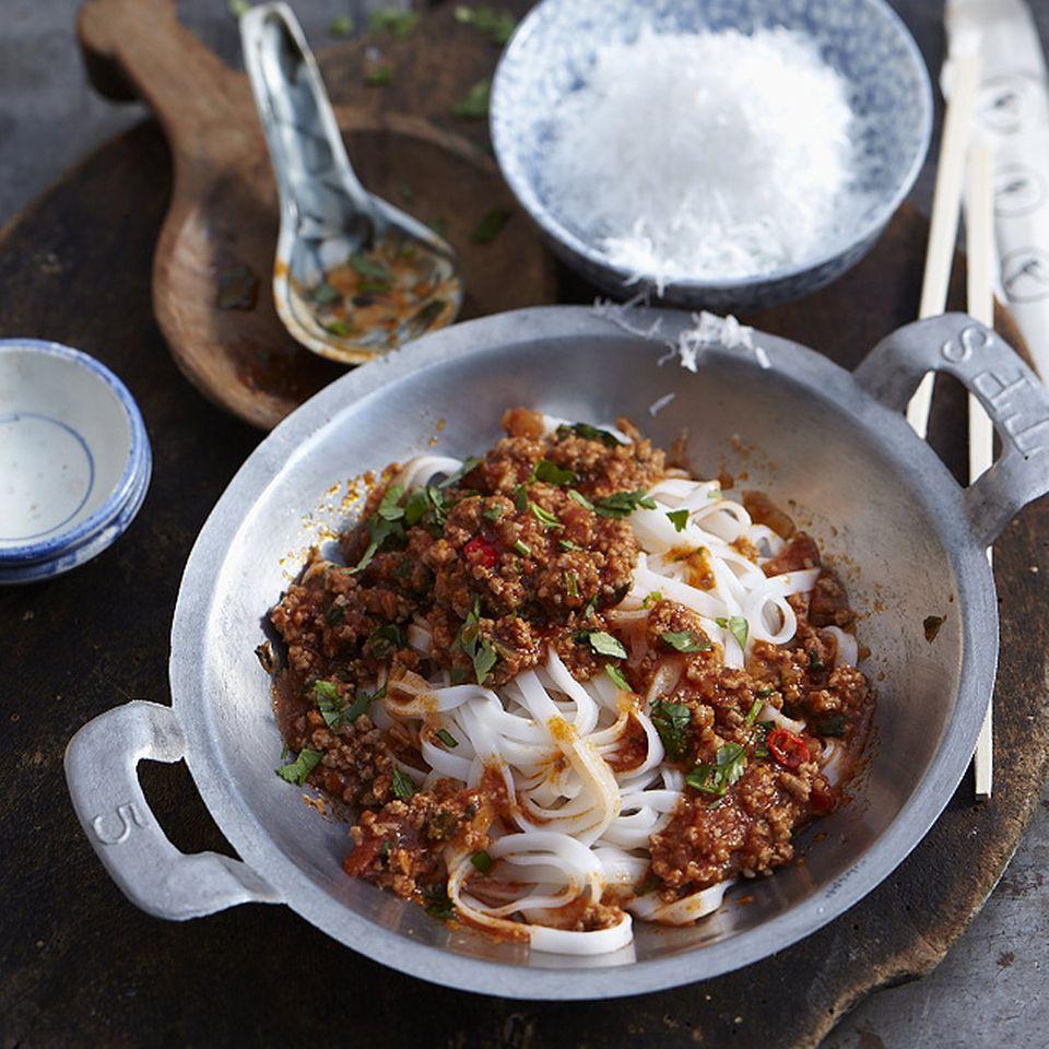 Asiatische Küche: Asianudeln
