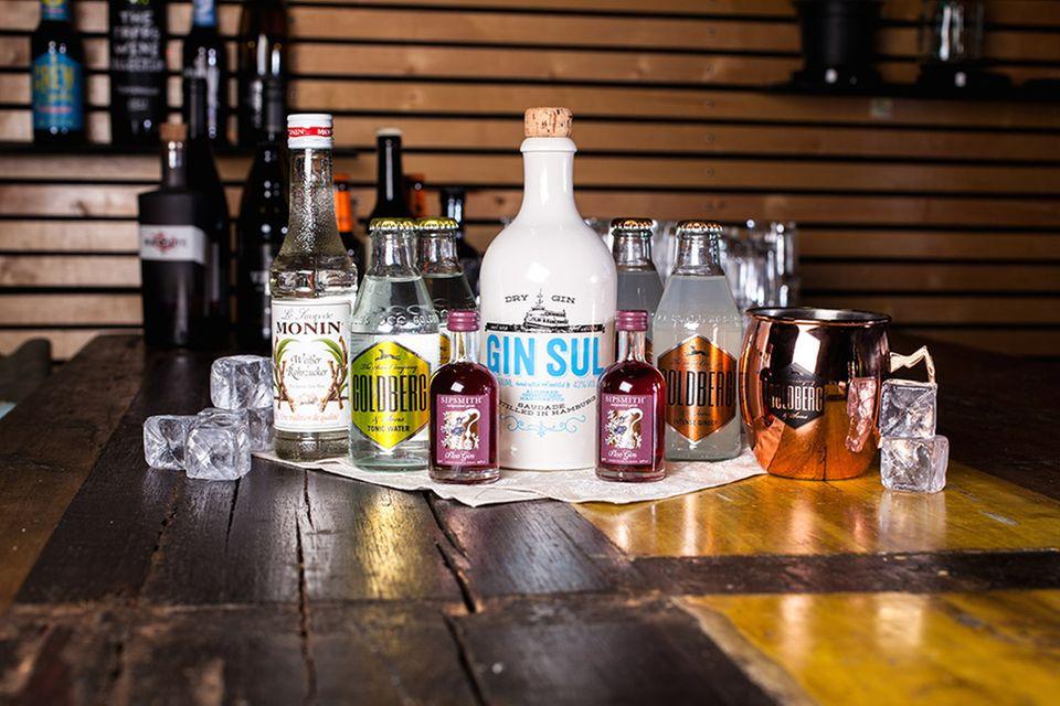 """Für Gin-Freunde und Cocktail-Neulinge: Die Foodist """"Spirits Box"""""""