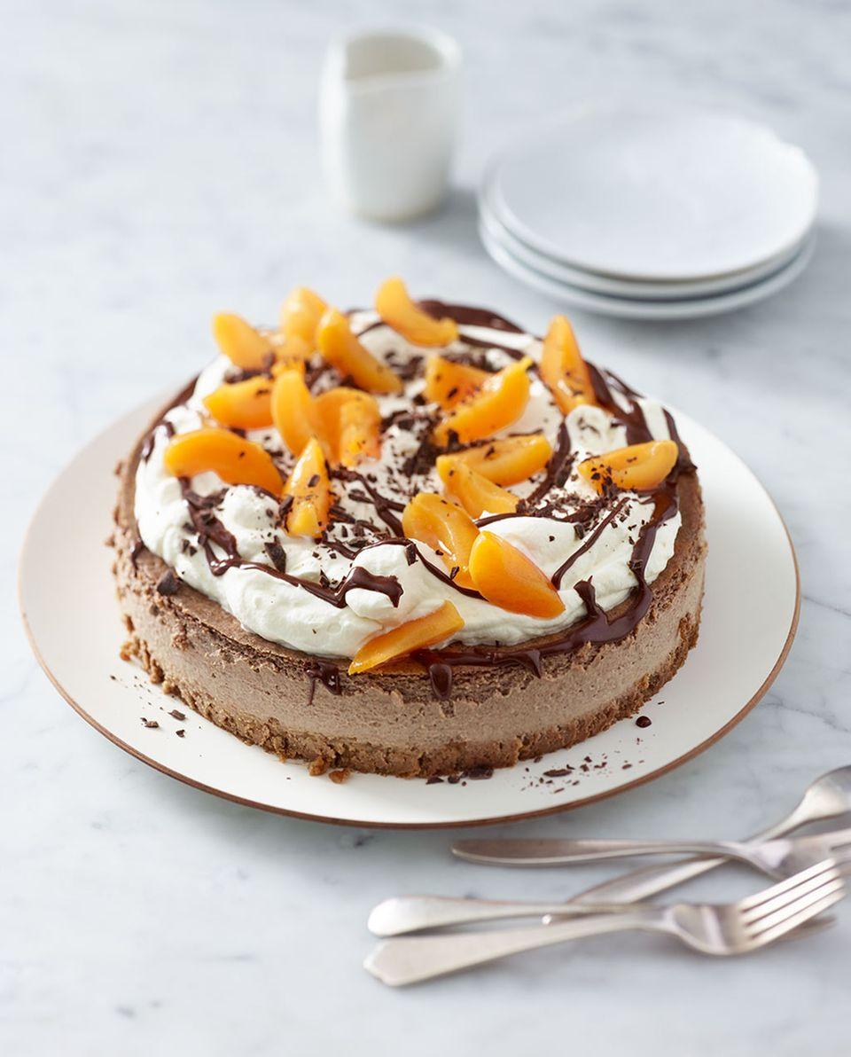 Für Schokoladen-Fans: Schoko-Cheesecake