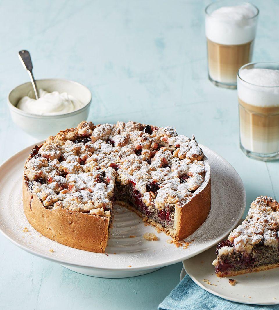 Der perfekte Obstkuchen für den Kaffeeklatsch mit Freunden