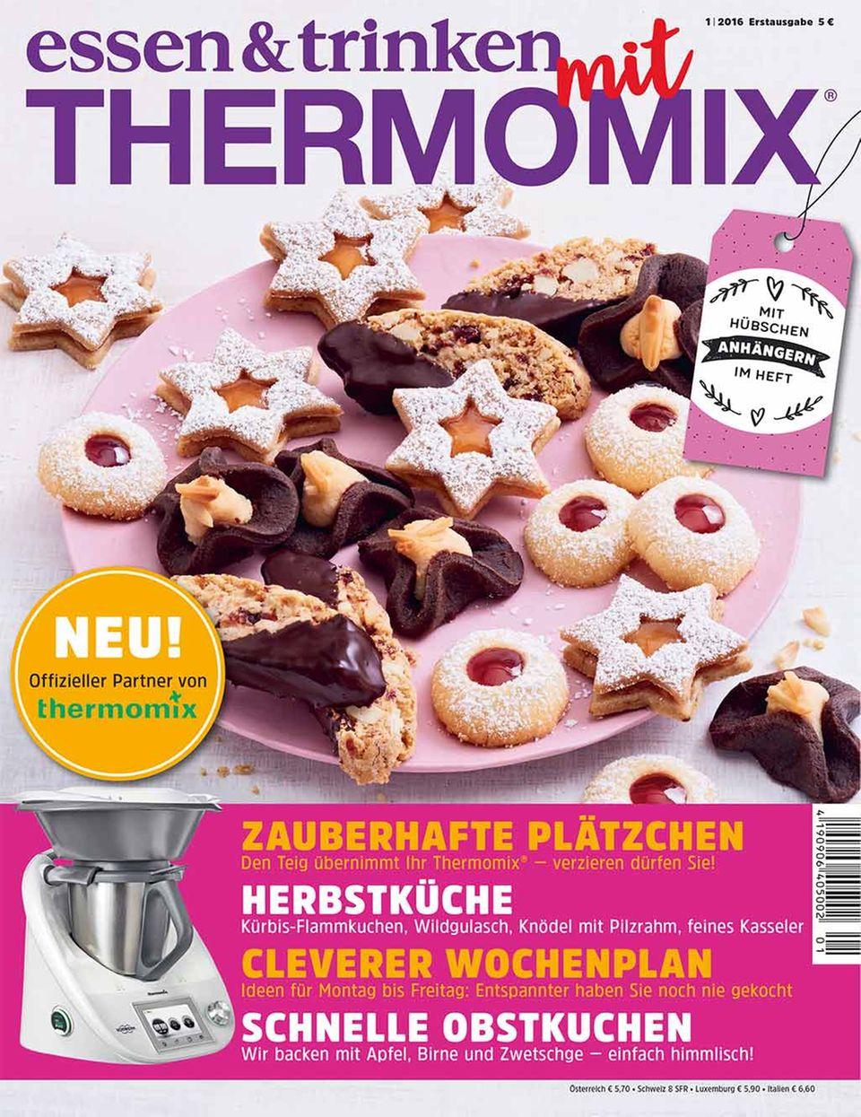 Neu am Kiosk: »essen & trinken« mit Thermomix®