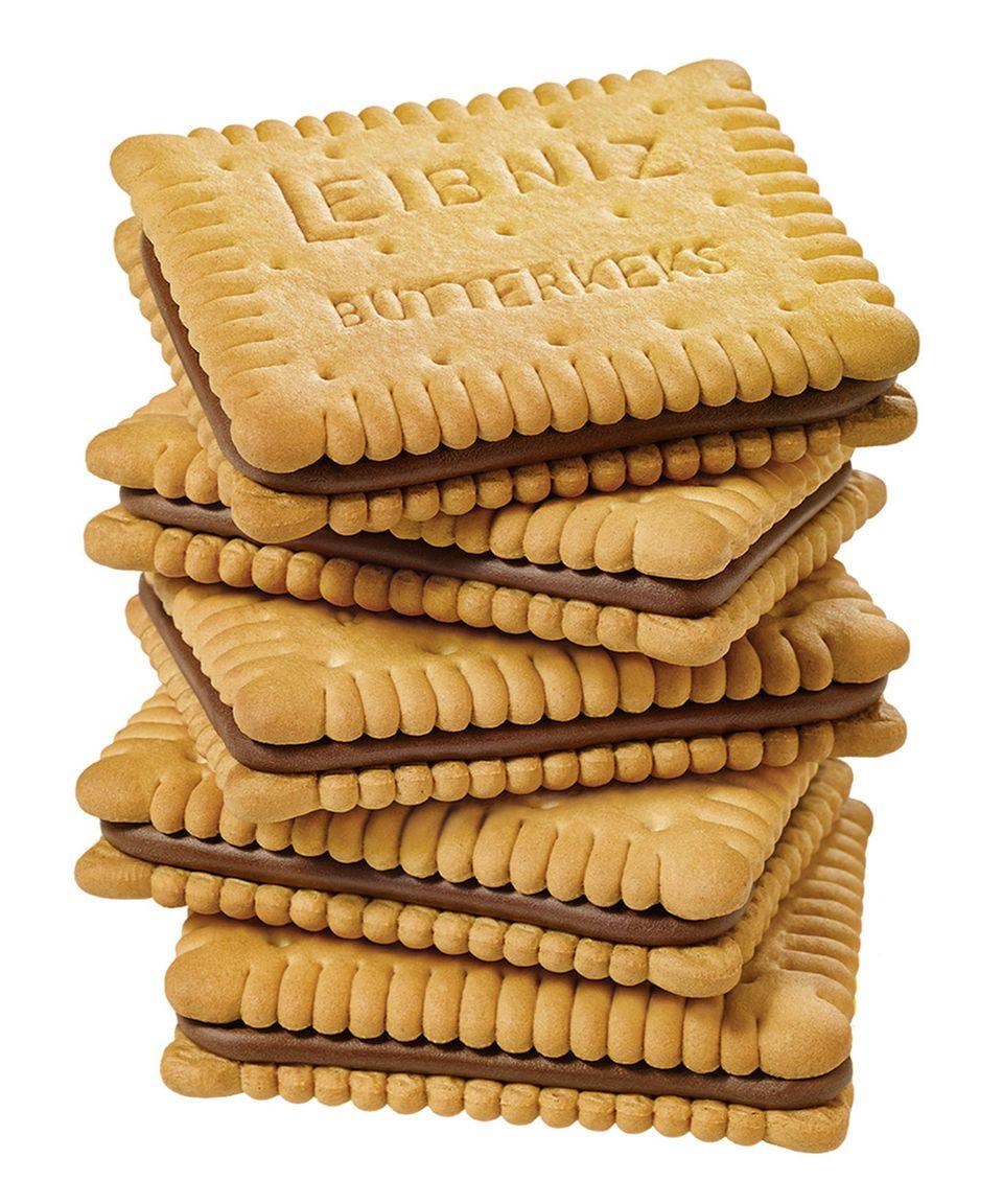 Zähne Leibniz Keks