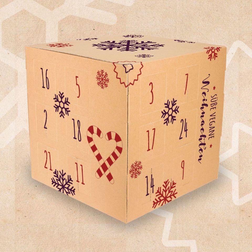 Adventskalender von VEGAN BOX