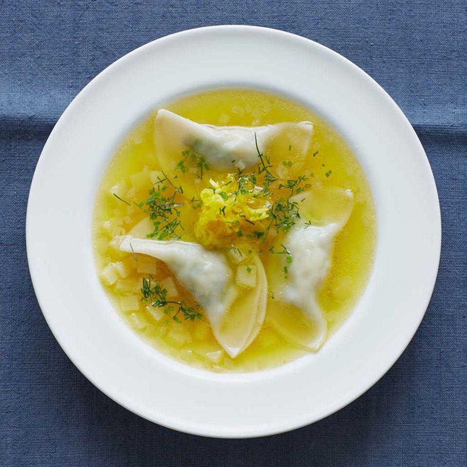 Vegetarische Suppe