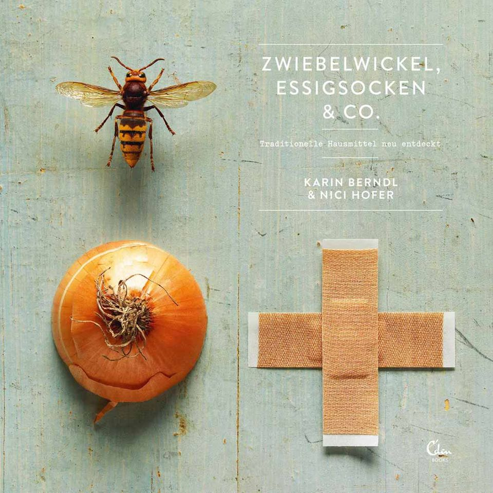 """Buchcover von """"Zwiebelwickel, Essigsocken & Co."""""""