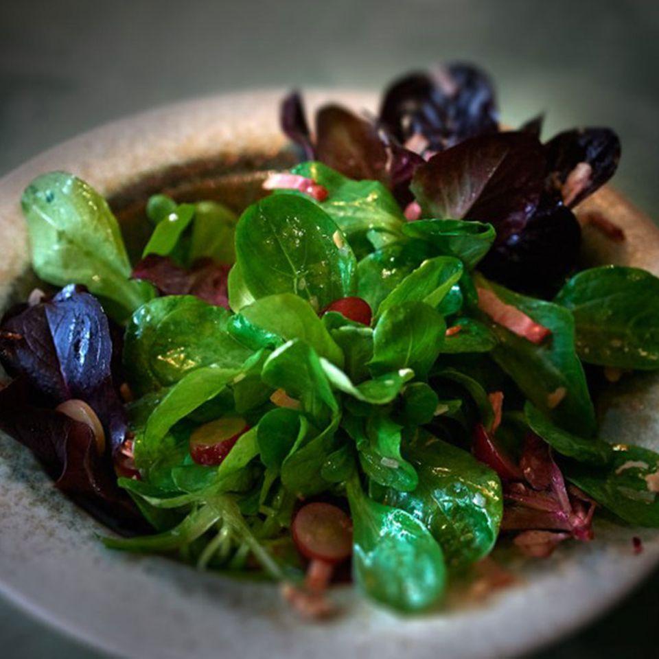 Rezepte: Salate mit Feldsalat
