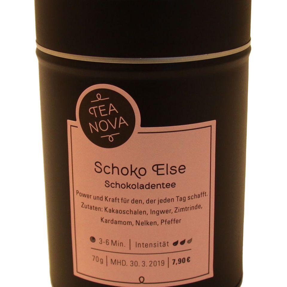 """Schokoladentee von TEA NOVA in der Sorte """"Schoko Else"""""""