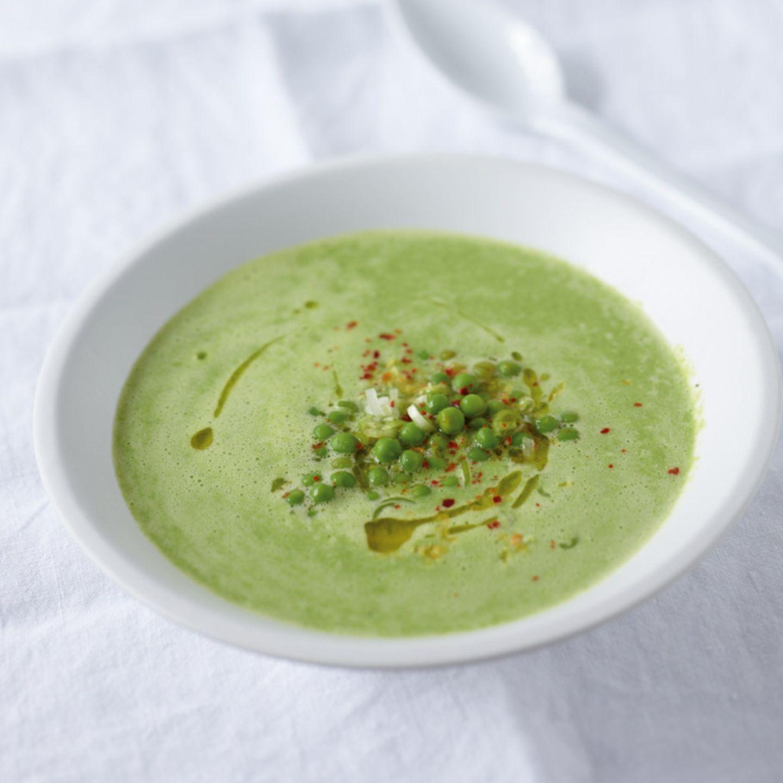 Erbsen in Suppen und Eintöpfen