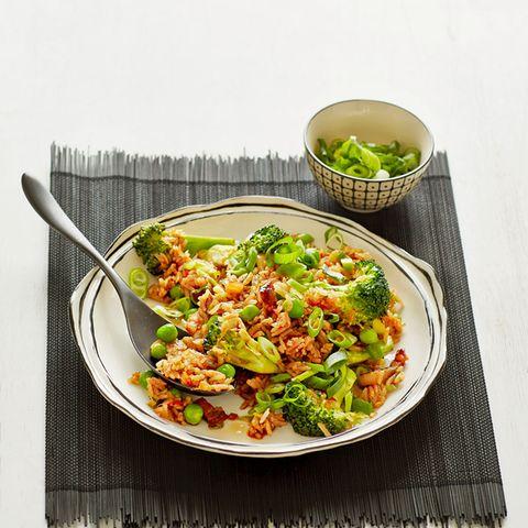Rezepte: Erbsen mit Reis
