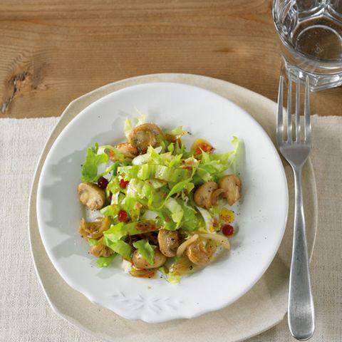 Salatteller: vegetarisch