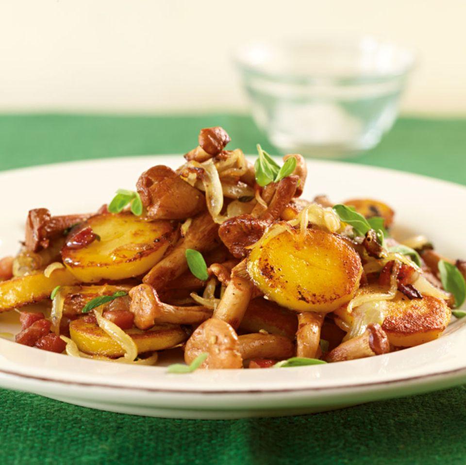 Rezepte: Pilze in Beilagen