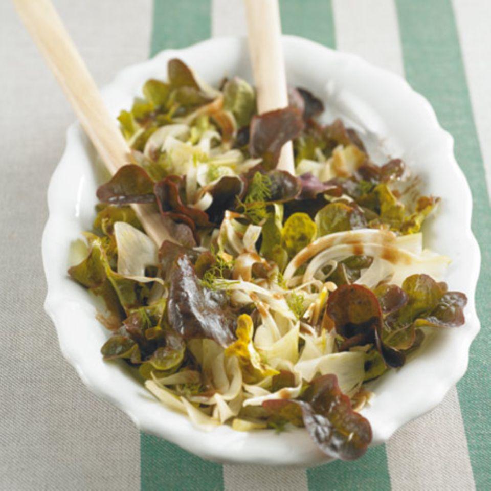 Salate mit Olivenöl