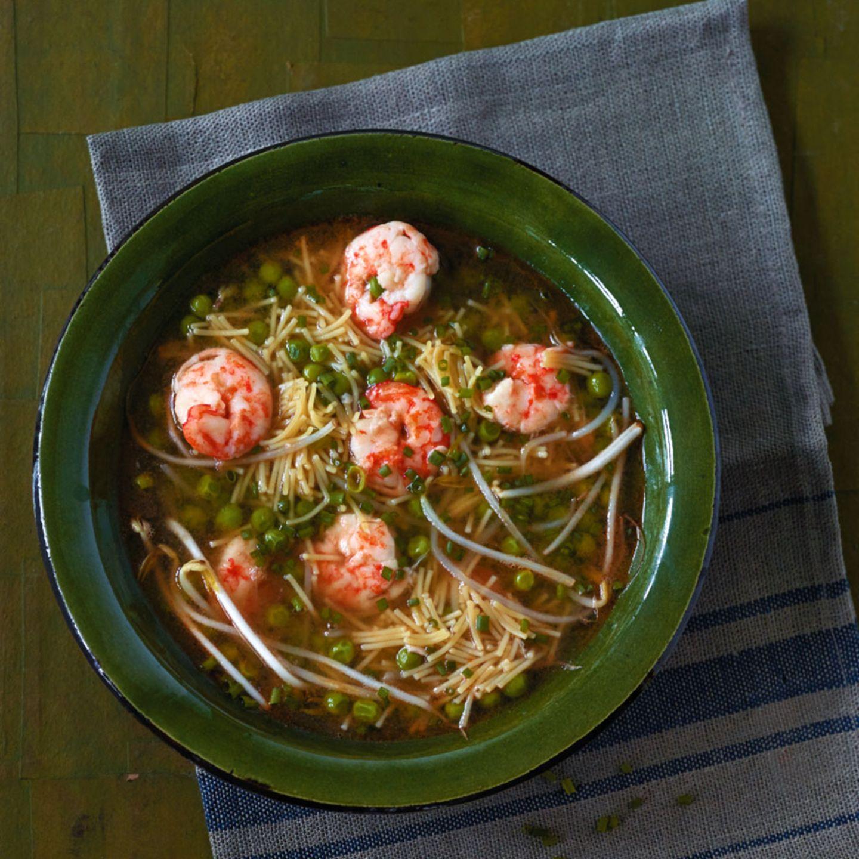 Rezepte: Suppen und Eintöpfe mit Garnelen