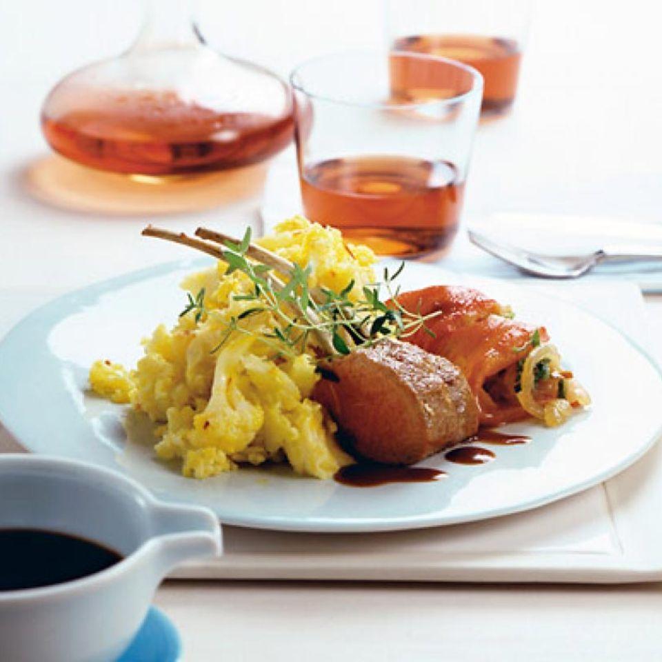Rezepte: Fleisch und Fisch mit Safran