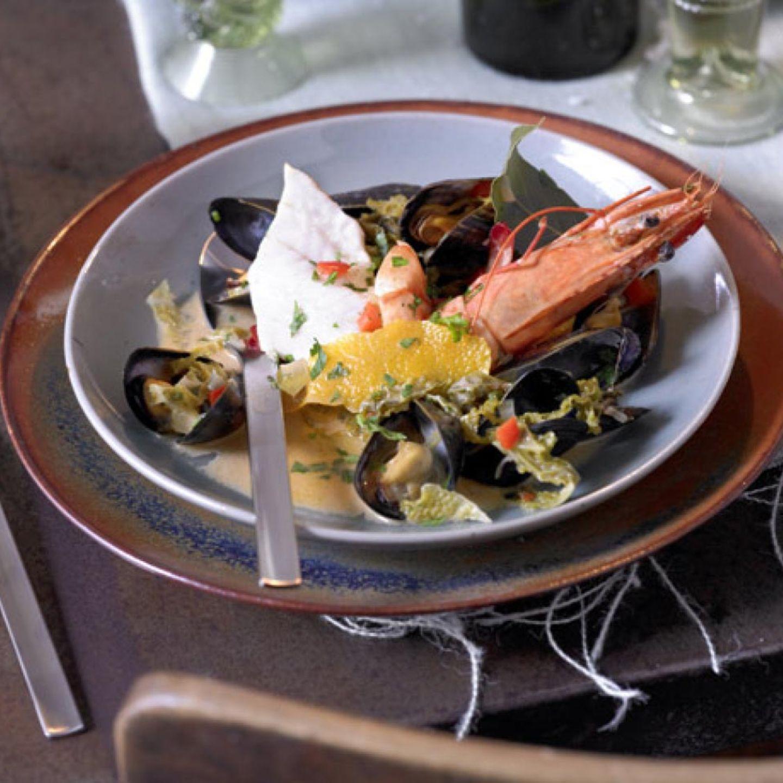 Rezepte: Meeresfrüchte in Suppen und Eintöpfen