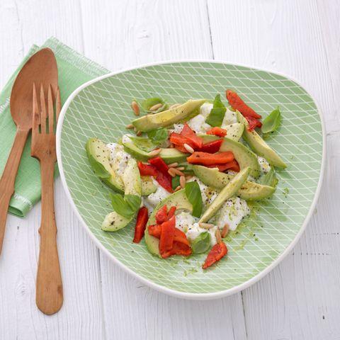 Paprika: Rezepte für Salate