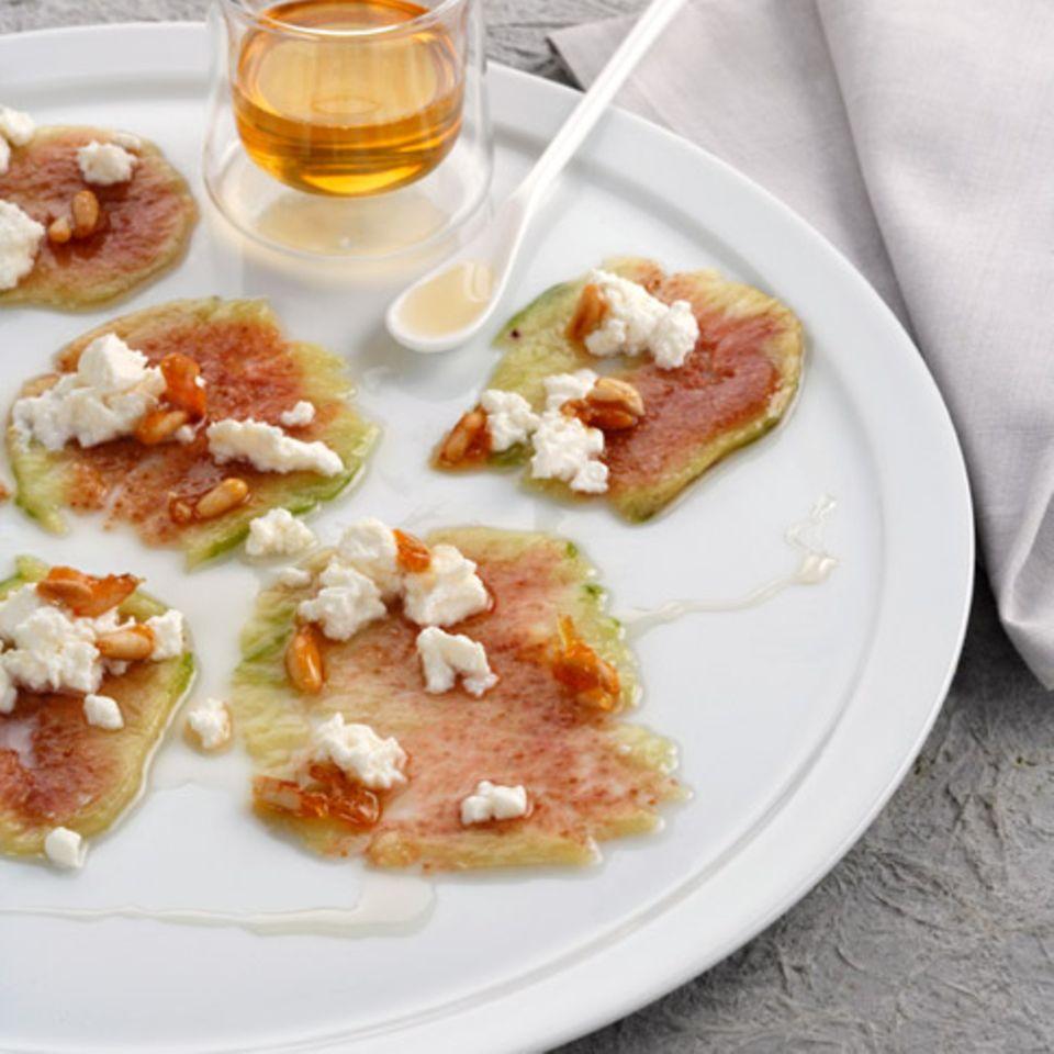 Rezepte: Süßes Carpaccio