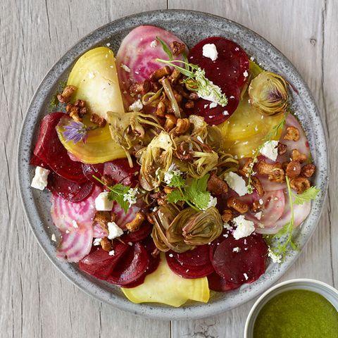 Raffinierte Gemüse-Küche