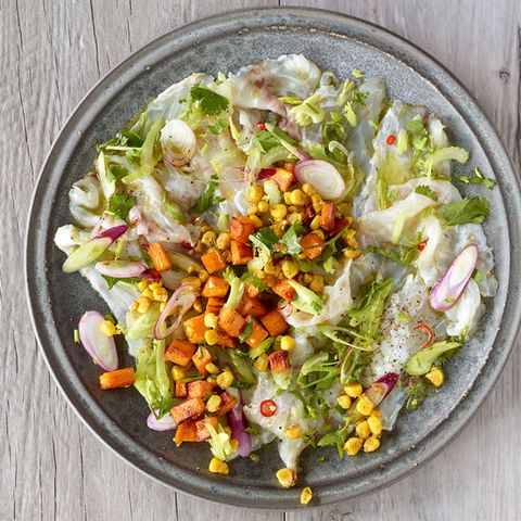 Carpaccio aus Fisch