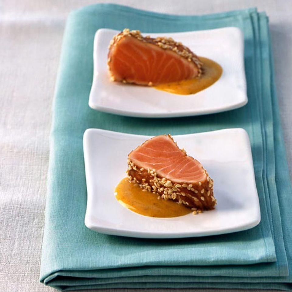 Rezepte: Fisch und Meeresfrüchte mit Sojasauce