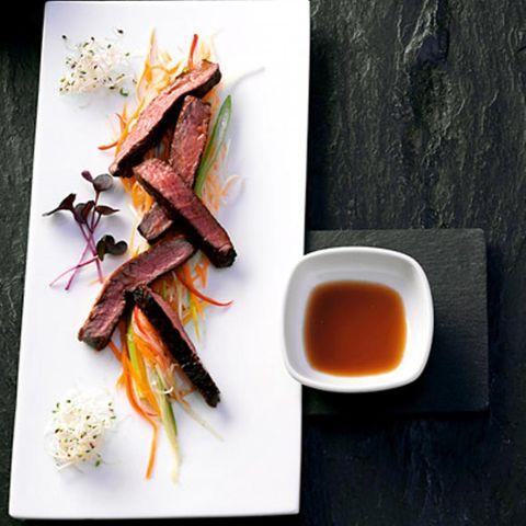 Rezepte: Rindfleisch mit Sojasauce