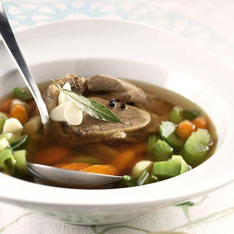 Rezepte: Suppe mit Lorbeer