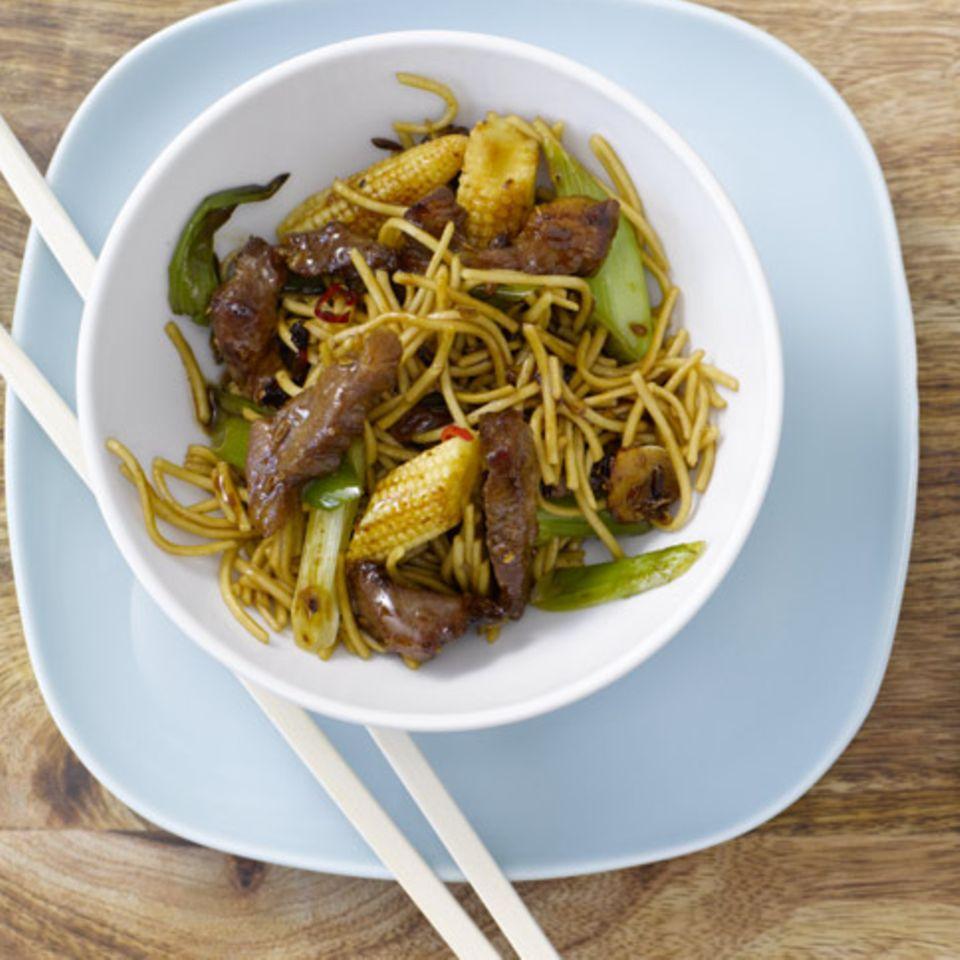 Rezepte: Nudeln und Reis aus dem Wok
