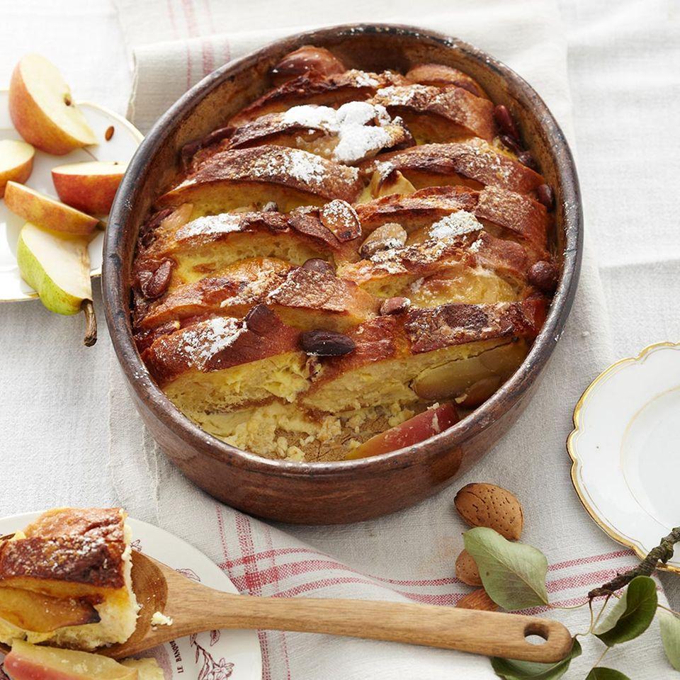 Süße Hauptgerichte mit Apfel