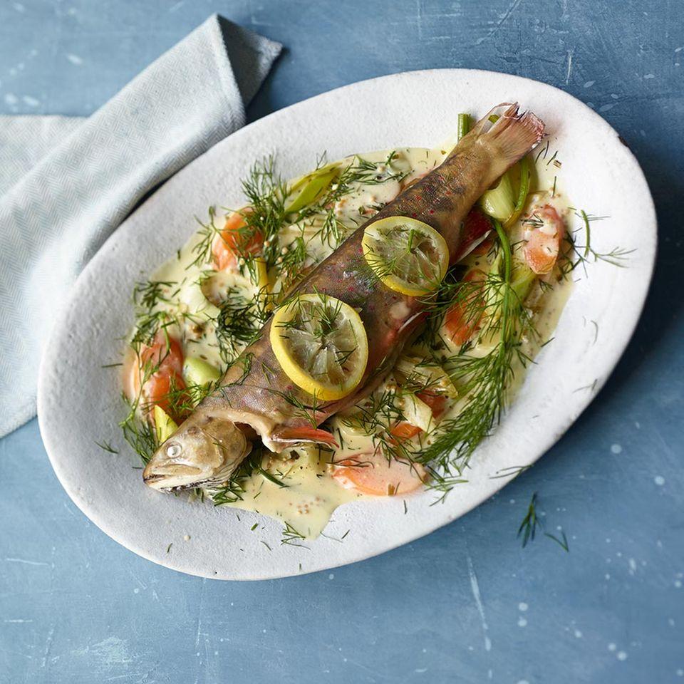 Rezepte: Dampfgaren mit Fisch