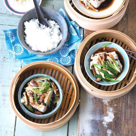 Rezepte: Dampfgaren mit Gemüse und anderen Zutaten