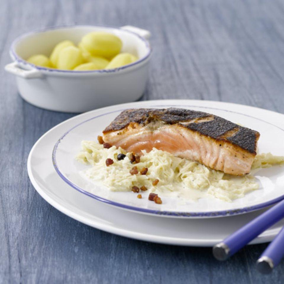 Rezepte: Fisch mit Speck