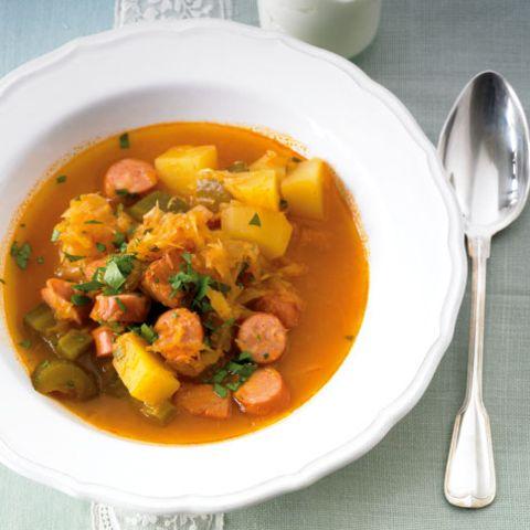 Rezepte: Eintöpfe und Suppen mit Sauerkraut
