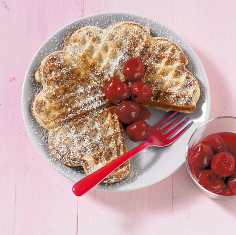 Feinster Zucker: Desserts mit Puderzucker