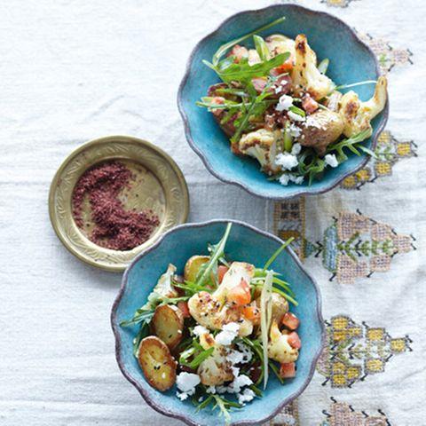 Schafskäse im Salat