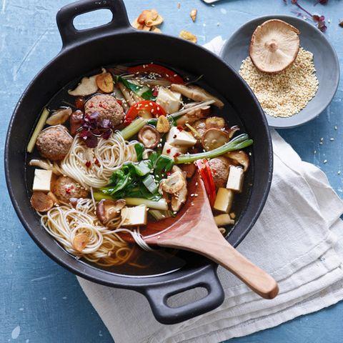 Rezepte: Suppe mit Schwein
