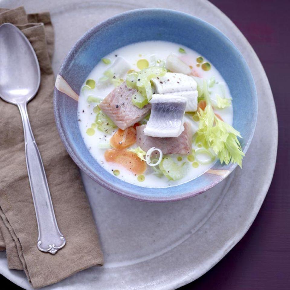 Rezepte: Eintopf mit Fisch