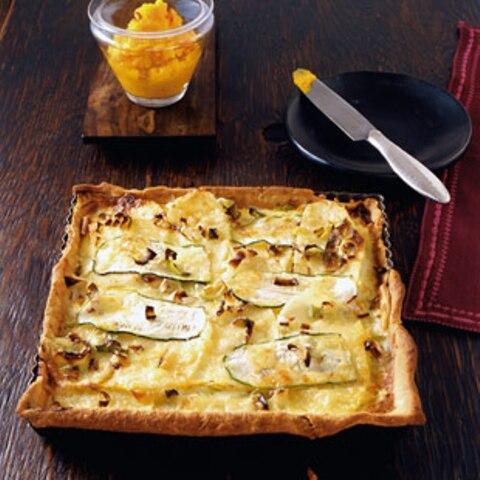Rezepte: Tartes, Quiches und Pizzen mit Käse