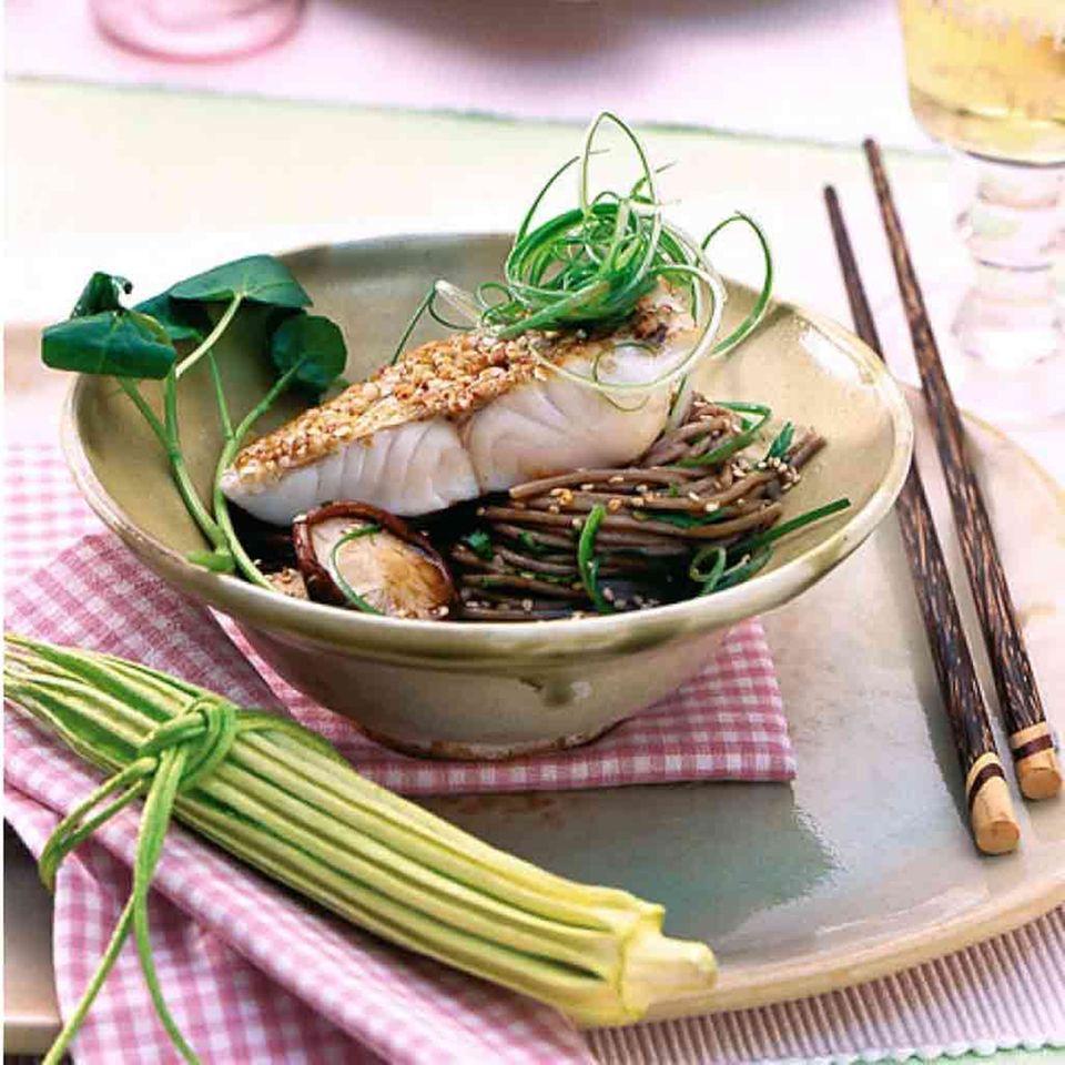 Sesamöl: Rezepte mit Fisch